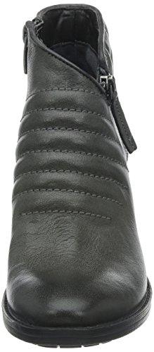 Lea Clarks Dark Biker Women's Boots Movie Grey Grey Retro Ww4Zqz8xwS