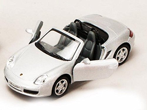 porsche-boxster-s-convertible-silver-kinsmart-5302d-1-34-scale-diecast-model-toy-car-brand-new-but-n