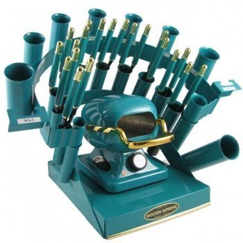 Supreme Golden Irons (Golden Supreme Iron Stove Rainbow Styling Set Teal by Golden Supreme)