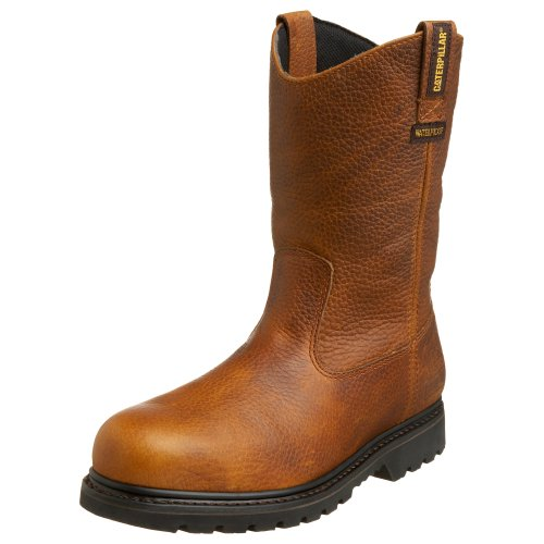 Image of Caterpillar Men's Edgework Pull-On Waterproof Steel Toe Work Boot