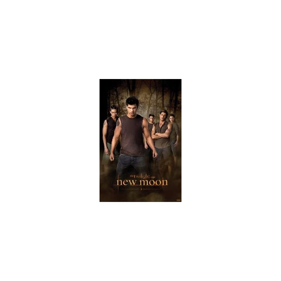 Twilight Wolf Pack New Moon Jacob Black Taylor Lautner Movie Poster 24 x 36 inches