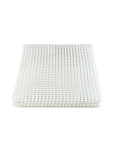 Latch Hook Rug Canvas (Rug Pad 1400 Series 4 feet x 6 feet - White)