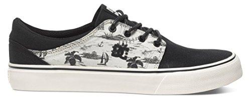 DC Shoes Dc Herren Schuhe Trase Sp - Zapatillas de skate Hombre Negro - Noir (Black/Cream)