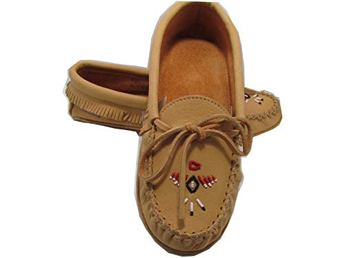 Chief Padded Tan Sole Double Laurentian Moccasin wq60O4THPx