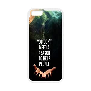 iPhone 6 4.7 Inch Cell Phone Case White Help People Quotes Iwjjg