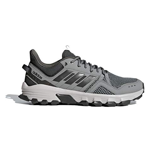 adidas Men's Rockadia Trail M Running Shoe, Black/Black/Dark...