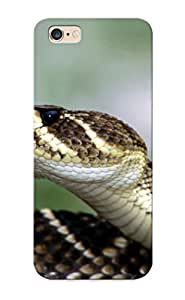 Iphone 6 Plus Case Slim [ultra Fit] Snake Reptile Snakes Predator Ralesnake Protective Case Cover(best Gift Choice For Friends)