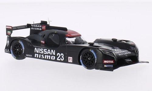 Nissan GT-R LM Nismo, No.23, 24h Le Mans, 2015, Modellauto, Fertigmodell, Spark 1:43