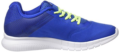 Reebok Damen Print Lite Run Laufschuhe Blau (virtual Blue / Electric Flash / Bianco)