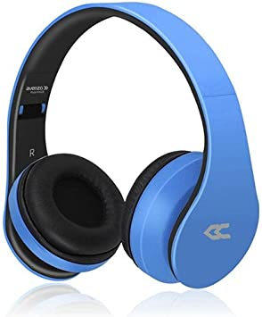 Avenzo AV620AZ - Auricular Bluetooth, Color Azul