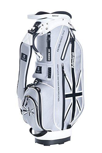 トムオードリースますます力アドミラルゴルフ 8.5型キャディバッグ LATEST ネオプレーン ADMG8SC4 【グレー(19)】