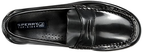Boys Sperry Black Penny Loafer Shoes