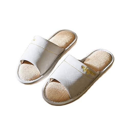 Per Morbidi Pantofole Punta Gray Ragazze Sandali Le Da Casa Aperta Antiscivolo Donna Unisex Lino Con In Passeggio rwqXfOwva