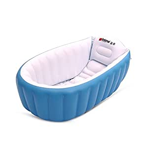 Large Intime Baby Care Tools Inflate Baby Bath Tub Seat Mini Swimming Pool