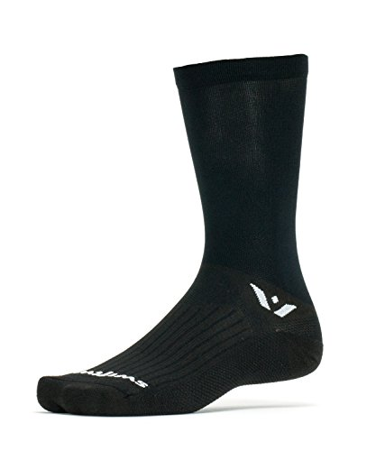 Swiftwick - Aspire SEVEN, Classic Crew Socks for Cycling