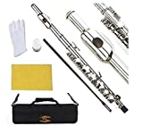 Glory Key of C Piccolo with Pro Case, Joint