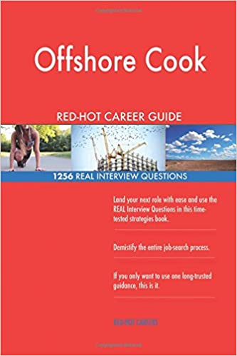 Offshore Cook RED-HOT Career Guide