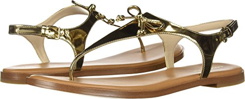 Cole Haan Flip Flops - Cole Haan Women's Findra Thong Sandal Gold Specchio 5.5 B US