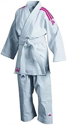 adidas Club GI Judo Traje Rosa 170: Amazon.es: Deportes y ...