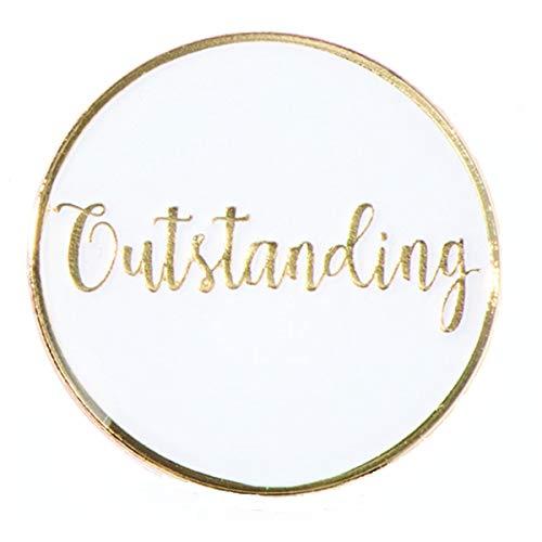 Outstanding Appreciation Award Pins, 12 - Awards Outstanding