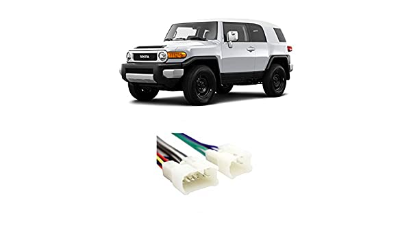 Amazon.com: Fits Toyota FJ Cruiser 2007-2014 Factory Stereo to ... on fj cruiser lowering kit, fj cruiser heater core, fj cruiser throttle body, fj cruiser glass, fj cruiser neutral safety switch, fj cruiser radio, fj cruiser shocks, fj cruiser maf sensor, fj cruiser timing belt, fj cruiser timing chain, fj cruiser door lock actuator, fj cruiser power socket, fj cruiser half shafts, fj cruiser hub assembly, fj cruiser door sill protector, fj cruiser instrument panel, fj cruiser door speakers, fj cruiser frame, fj cruiser door panel, fj cruiser rear end,