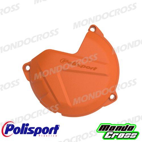 MONDOCROSS Cover protezione carter frizione POLISPORT Arancione KTM 125 EXC 09-16 125 SX 09-15 150 SX 09-15 200 EXC 09-16