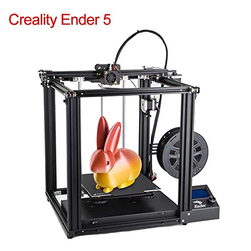 Creality Original Ender 5 All-Metal 3D Printer with Resume Printing Function, Brand Power Supply and High Temperature Heated Bed