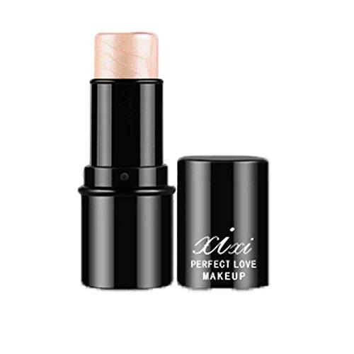 Face Lip Shimmer Stick (FTXJ Highlight & Contour Stick Beauty Makeup Face Powder Cream Shimmer Concealer (2#))