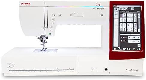 Janome Memory Craft 14000 máquina de coser y bordar: Amazon.es: Hogar