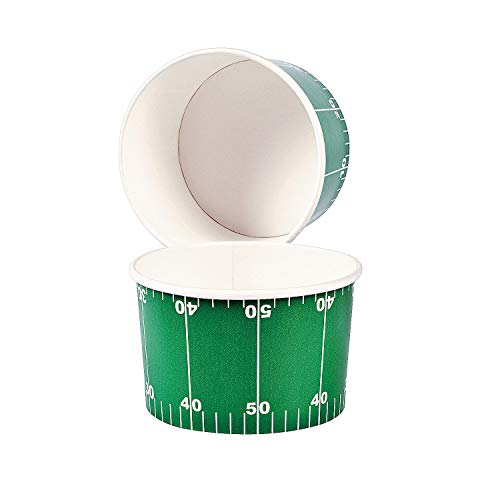New Football Chili Bowls (set of 12) Party Supplies