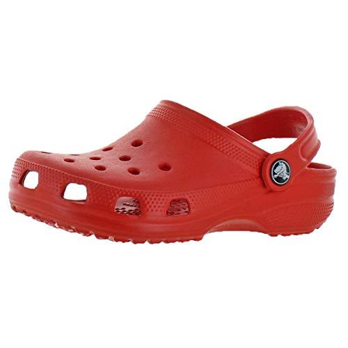 Crocs Unisex Kids Classic Croslite Clog Shoes Flame Little Kid Size 10-11 by Crocs