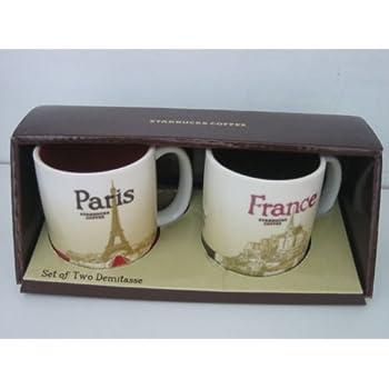 Amazon Com Starbucks Paris France Global Icon Collection