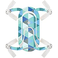 Skin For ZEROTECH Dobby Pocket Drone – Blue Kaleidoscope | MightySkins Protective, Durable, and Unique Vinyl Decal wrap cover | Easy To Apply, Remove, and Change Styles | Made in the USA