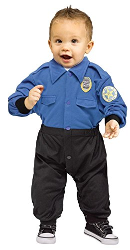 Policeman Costume for Babies - 6-12M