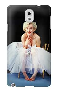 S1837 Marilyn Monroe White Dress Case Cover For Samsung Galaxy Note 3
