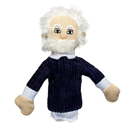 Albert Einstein Doll (Albert Einstein Finger Puppet and Refrigerator Magnet)
