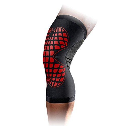 Panegy Lightweight Knee Brace Sleeve Commpression Leg Protector Gear for Basketball Football Hiking Biking Baseball Jogging Red L