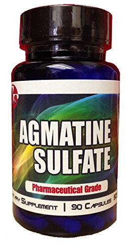Lean 90 Capsules Xtreme (New Pro Force Agmatine Sulfate Nitric Oxide Booster and Muscle Builder Xtreme Bodybuilding Supplements Powerful Amino Acids Anti Fatigue Factor)