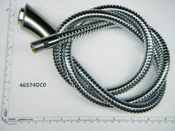 Grohe Replacement Part 46574DC0 K4 Mousseur Hose & Head by GROHE