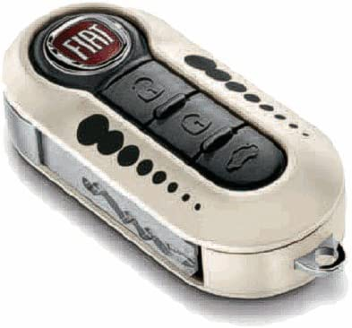 Original Fiat 500 Schlüsselcover Set Kugeln Auto