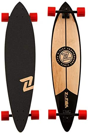 Z Products Z-Flex Pintail Longboard – Black