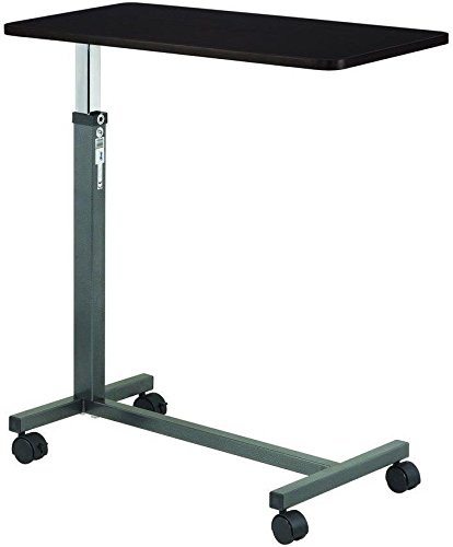 All Goodly Medical/Elderly/Patient Top Overbed Bedside Rolling Table by All Goodly