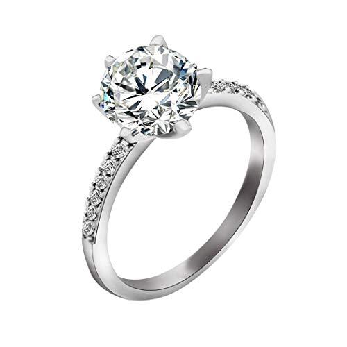 Dasado Womens Rings Fashion Casual Jewelry Charm Wedding Ring