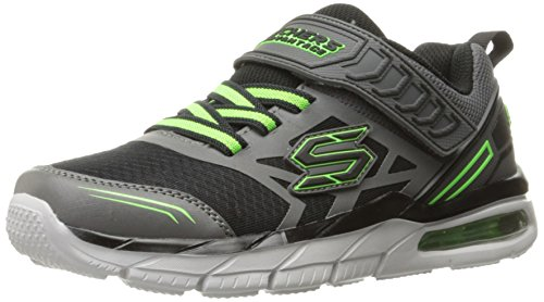 Skechers Kids Kids Air Advantage-Nova Drift Sneaker Black/Charcoal