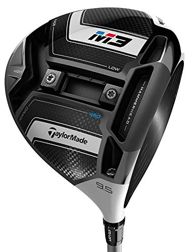 TaylorMade M3 Driver 460 (MCA Red, Regular Flex, Right Hand, 10.5 degrees)