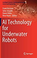 AI Technology for Underwater Robots Front Cover