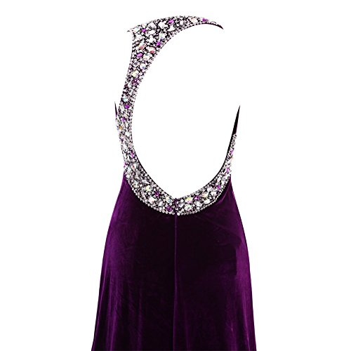 YiYaDawn -  Vestito  - stile impero - Donna fucsia 44
