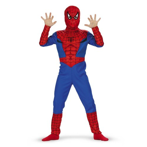 Spiderman Classic Costume - Size: Child L(10-12) -