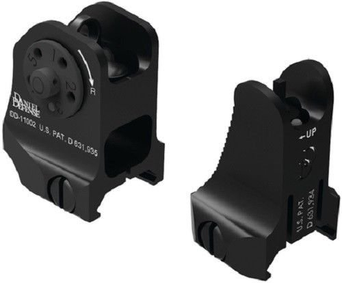 19-088-09116 Daniel Defense, Fixed Front/Rear Sight Combo by Daniel Defense