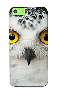 OKU435HzooR Anti-scratch Case Cover Stylishgojkqt Protective Owl Bird Head Eyes Case For Iphone 5c